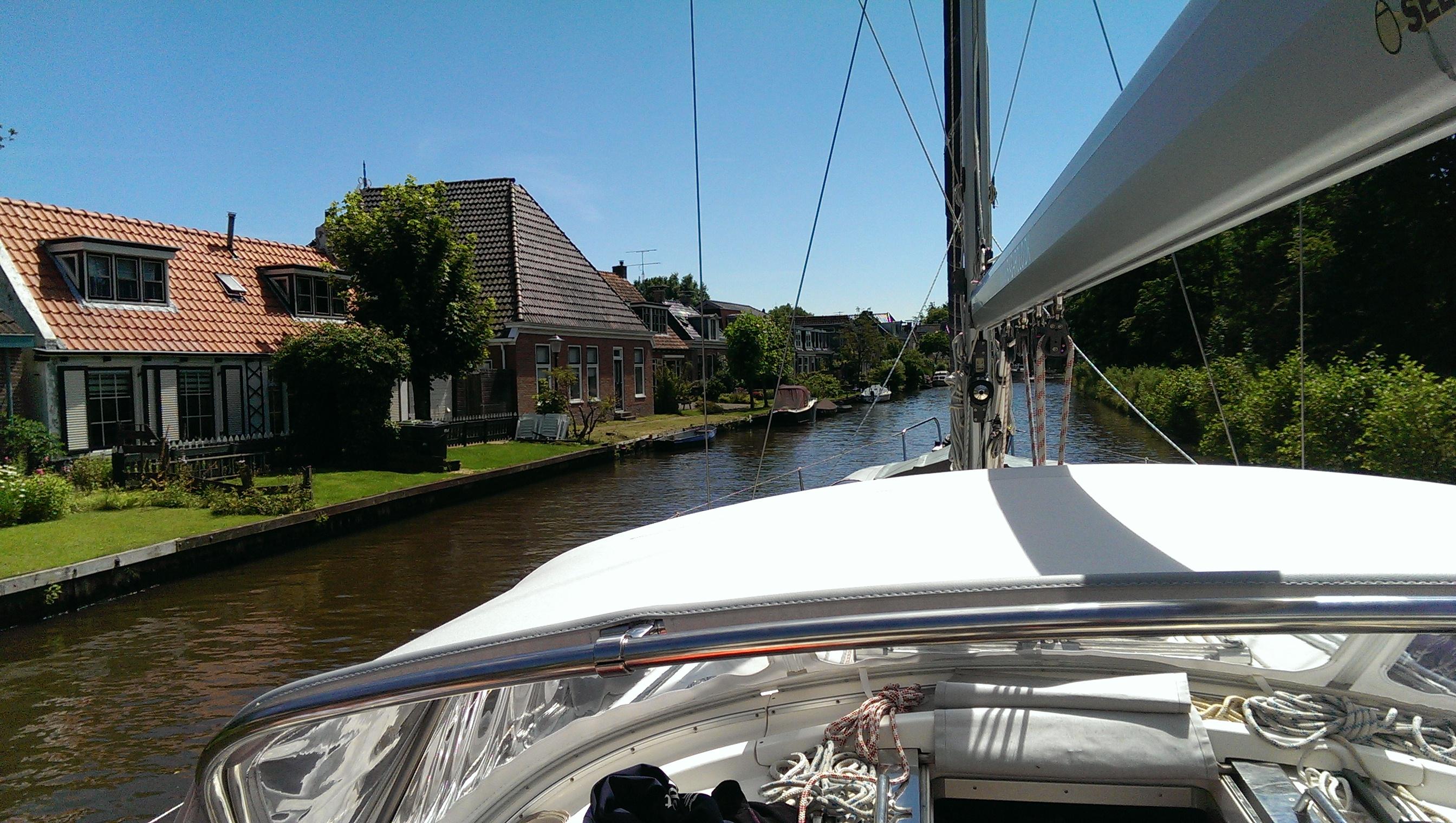 Beliggenhed, beliggenhed, beliggenhed... der er mange der bor virkelig smukt langs de Hollandske kanaler